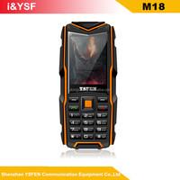 Factory price2.4 inch screen IP 67 waterproof 3 Sim card rugged cdma waterproof mobile phone