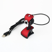 USB Webcam 50M 6 LED Night Vision HD Webcam Camera Web Cam With Mic Driver Webcam USB PC Camera