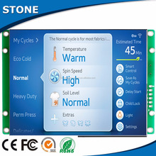 low consumption database maintenance industrial control 7 inch tft lcd color monitor with a free full-function software