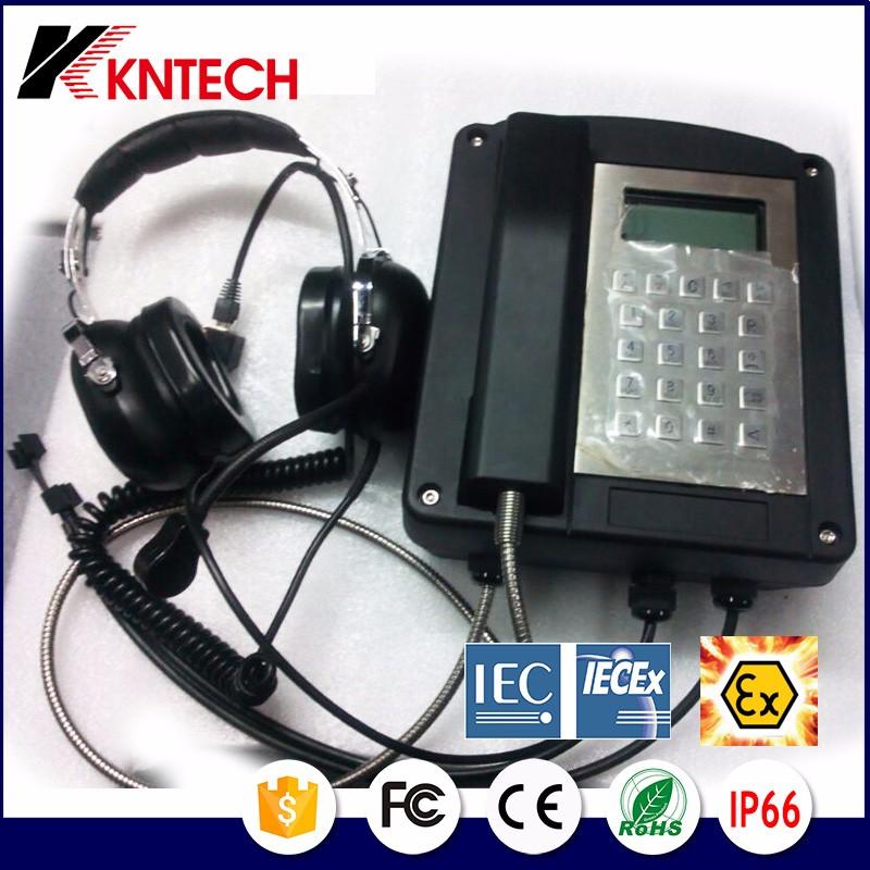 Alibaba Koontech headphones compatible for industrial telephones KNEX1H SOS Emergency Telephone kntech 1