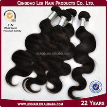 first selling machine weft 6a7a8a grade unprocessed cheap remy human hair ponytail extension