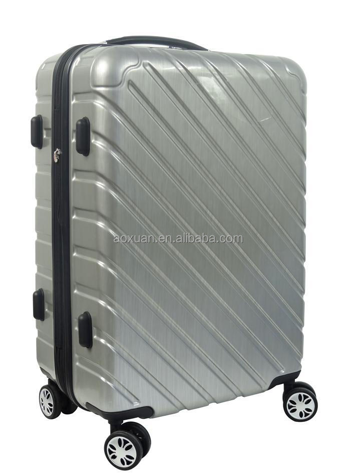 travel luggage abs pc travel luggage shanghai factory abs pc tavel luggage trolley luggage