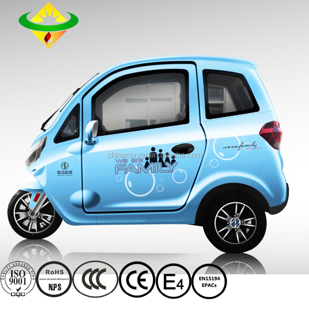 China made smart 3kw 2 person electric mini car with 60km/h speed