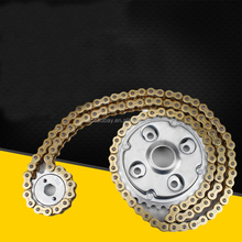 CA250 Motorcycle Roller Chain With Front Rear Sprockets