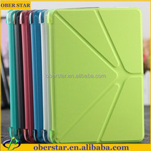 Magnet stand Smart cover leather case For iPad mini 2