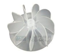 Shenzhen high quality plastic hair dryer blade part and plastic injection mould making