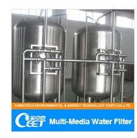 Activated carbon and quartz sand water filter