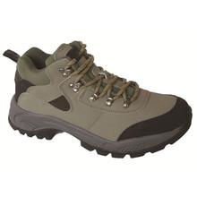 Stylish Rubber Sole Steel Toe Men Leather Light Sport Safety Shoes