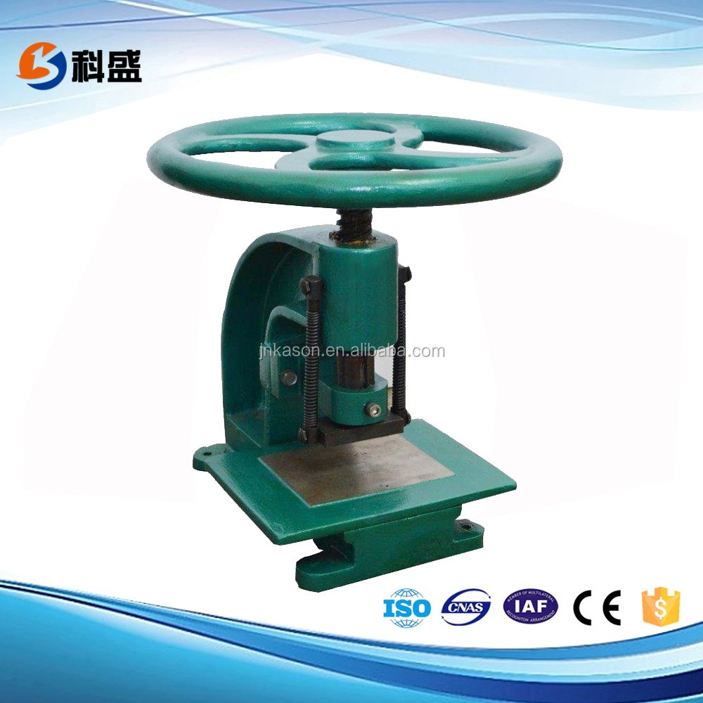 KS-5010 Manual Rubber Punch die cutter rubber cutter