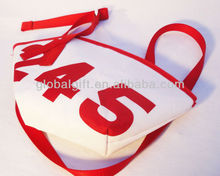 Clam-shaped Durable Waterproof Cheap Sailing Cloth Beach Bag