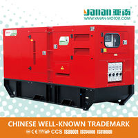 Yanan Silent Diesel Fuel Less Cummins 100kw Generators