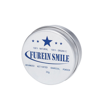 New Packaging 20g Brighter Smile Teeth Whitening Food Grade Natural Coconut Shells Activated Charcoal Powder Cleaning Powder