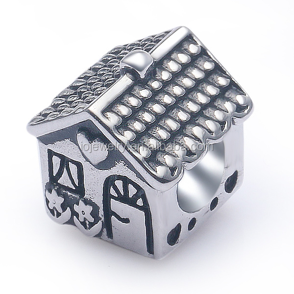 Animels and pets jewelry dog house charm beads