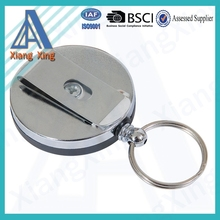 2015 cheapest Round Key ID Lanyard Belt clip for keys or ID badges