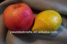 Artificial fruit orange lemon apples lifelike fake fruit