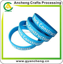 high quality cheapest plain silicon wrist band for promotion