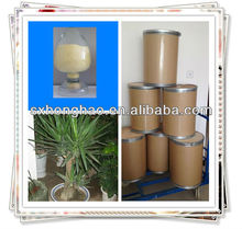 100% Natural Yellowish Powder Saponins 50% UV Yucca plant Extract
