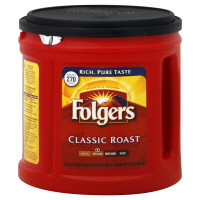 Folgers Medium, Classic Roast Ground Coffee 33.9 Oz (25500-00367)