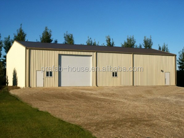 Lida Metal Farm Buildings Steel Shed Plant Substation Steel Structure/ High Quality Metal Farm Buildings