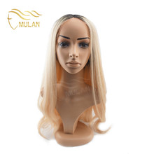 Wholesale cheap price blonde hair thin skin perimeter full lace wigs