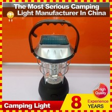 Ultra Bright LED Solar Camping Lantern with Mobile Phone Charger