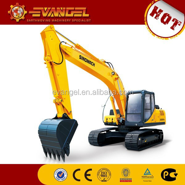 cheap excavators for sale/0.22m3 bucket hydraulic excavating machinery