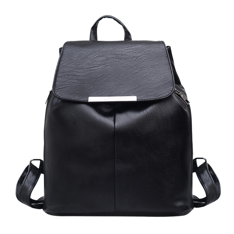 fashion factory school bag for children school backpack china leather backpack anti theft bag