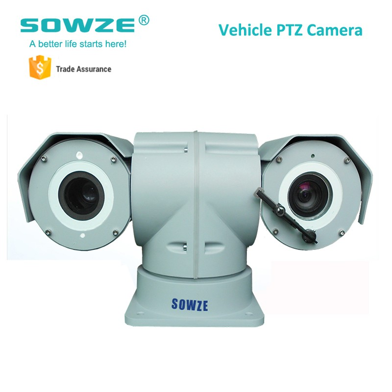 20x Optical Zoom Long Range Car Roof Laser PTZ Camera