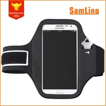 Universal Mobile Phone Gym Sports Elastic Armband Case For HTC One