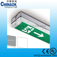 Building Power Failure Emergency Light Usage LED Double sided Exit Sign