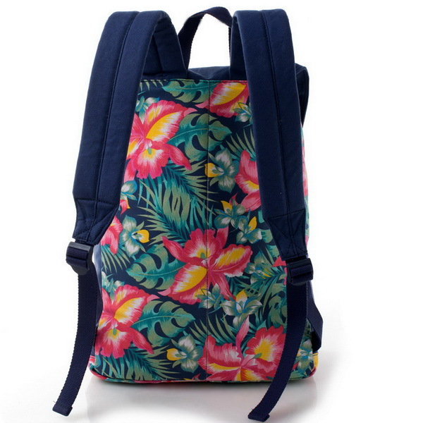 Fashion flower pattern wholesale school backpack