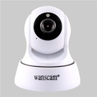 Wanscam 720P Network IR-CUT Wireless PT TF Card Recording Wifi IP Camera