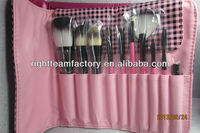 cosmetic synthetic makeup brushes set