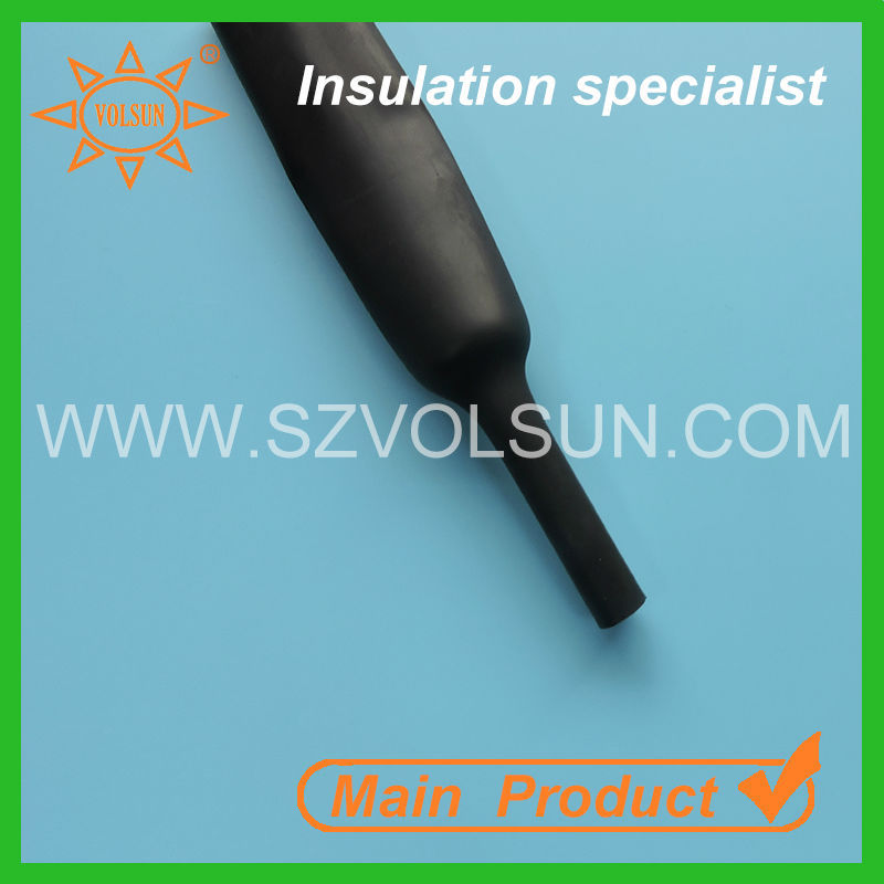 High temperature heat shrink epdm rubber sleeve