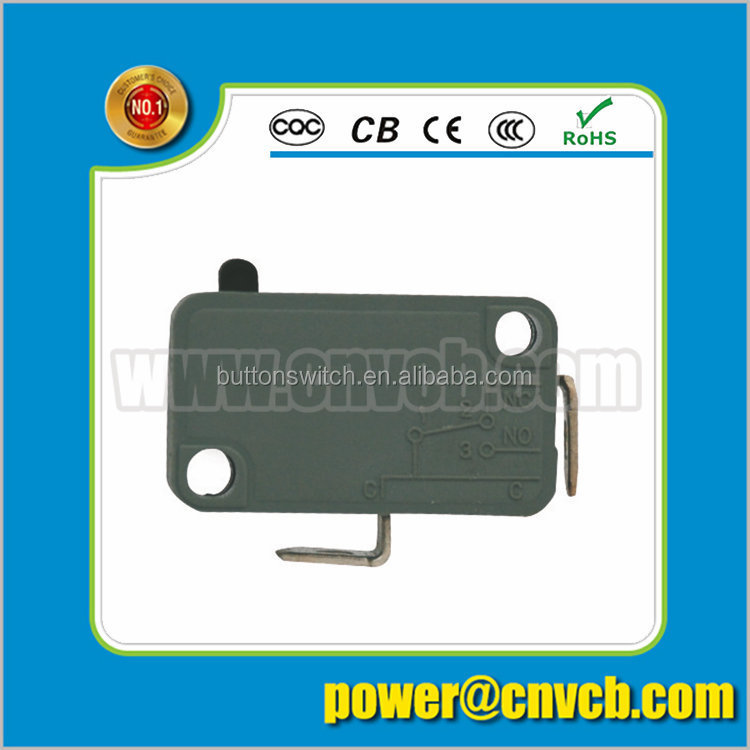 M08 KW7-0BS Super quality professional 2 pin solder terminal normally close micro switch