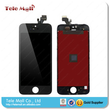 Black original pass replacement for iphone 5 lcd touch complete