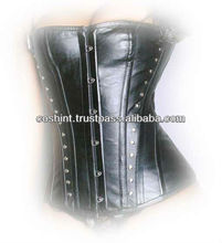 Leather Fullbust Steelbones Corset / Vollbrust Korsett