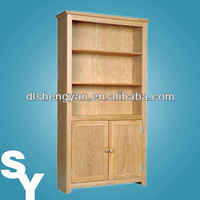 2014 New Design Flat Pack Wood Tall Bookcase