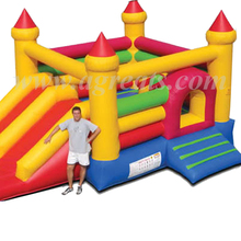 Commercial Inflatable Jumping Castles with Prices, cheap inflatable combo with slide trampoline G3106
