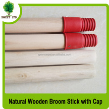 Natural wood poles round broomsticks and broom handle for mop and brooms
