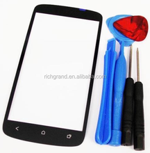 Black Screen Glass Lens Replacement for HTC One S T-Mobile + Tools