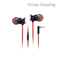 GD300 In-ear earphone with mic hifi music earphone for iphone, samsung, xiaomi with drop shipping service-skype: colsales09