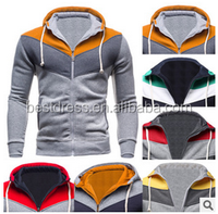 Walson 2015 Fashion Style latest Mens zip upfitted Hoodies Sweatshirts Pinup Design Cheap Man Hoody Sweatshirts