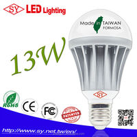 2016 13W light bulb, Cool White LED bulb home led light CE Rohs E27 B22 wholsale RA>75