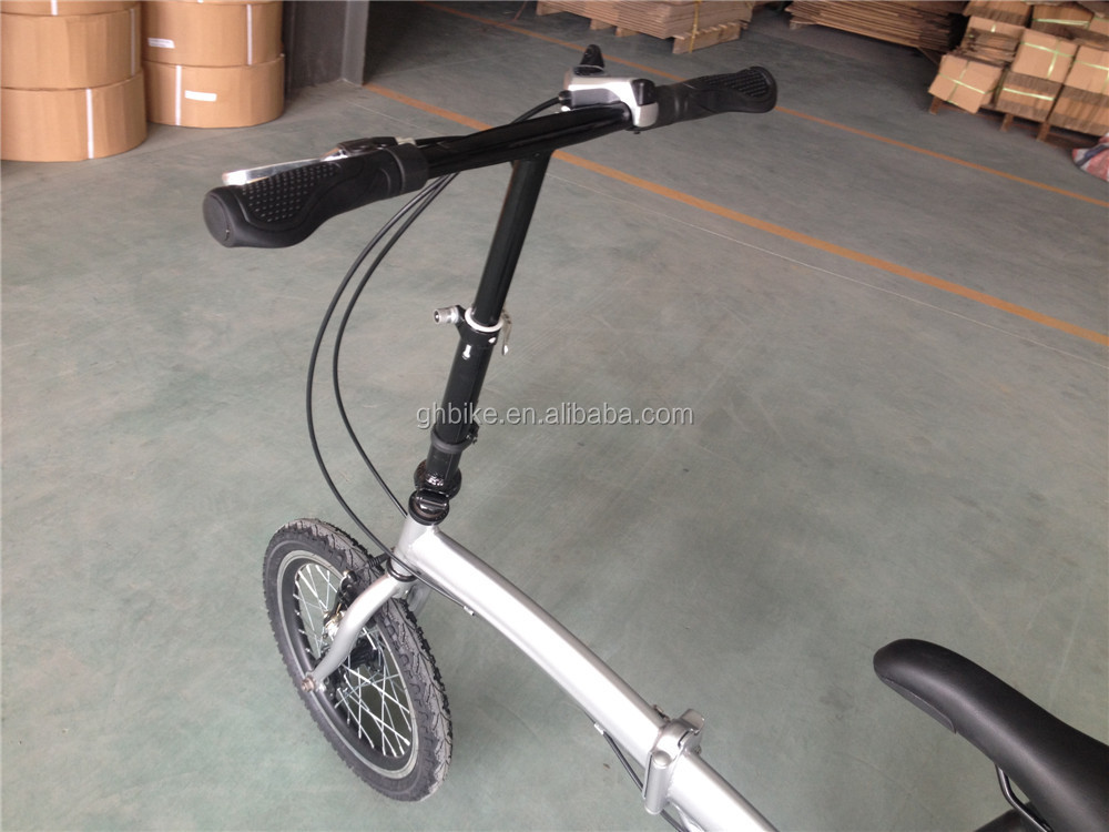16 inch light folding bike