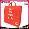 China factory cheap non woven bag shopping logo