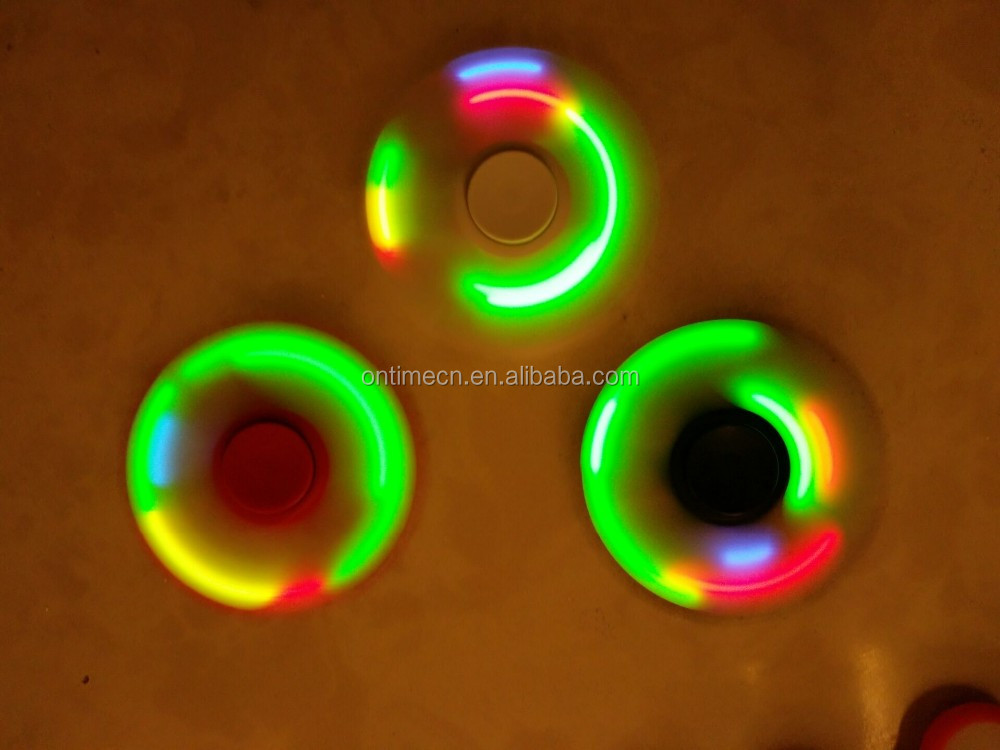 spinner fidget toy, hand spinner tri-spinner toy spinner light spinner toy