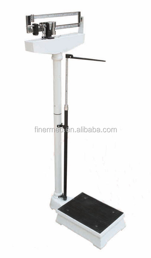 medical mechanical scales with Height Measure