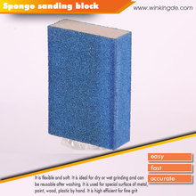 PEGATEC Multi Sand Small Area Polishing Abrasive Sponge Sanding Block