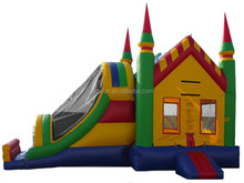 2015 kid fun city inflatable bouncer combo/outdoor inflatable playground
